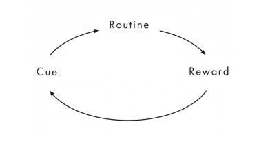 Step One: Identify the routine (source: charlesduhigg.com)