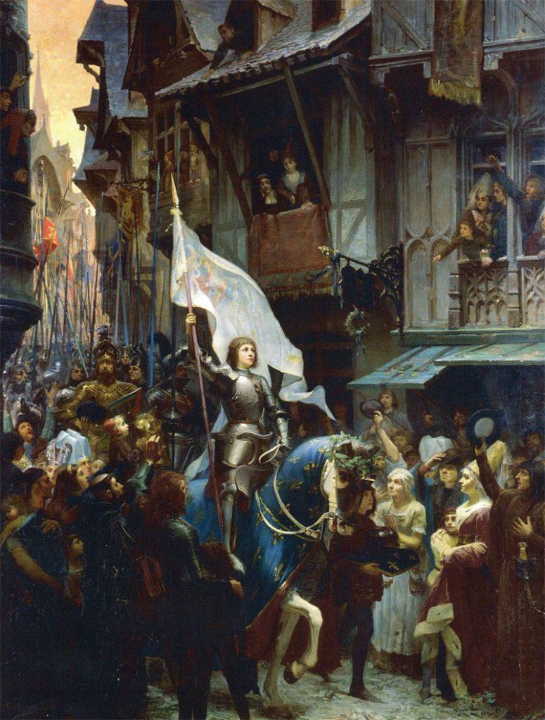 """Jean-Jacques Scherrer - """"L'entrée de Jeanne d'Arc à Orléans"""""""