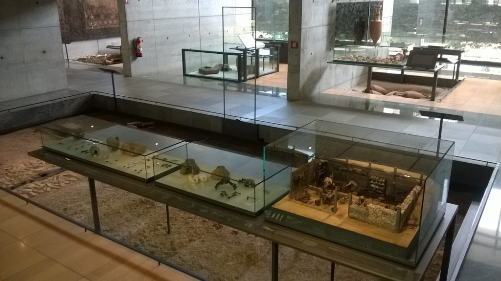 Bibracte, museum exhibition