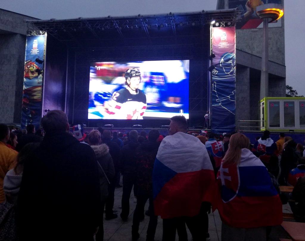 Bratislava Fanzone Ice Hockey World Championship