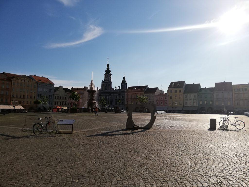 České Budějovice (Budweis), city center
