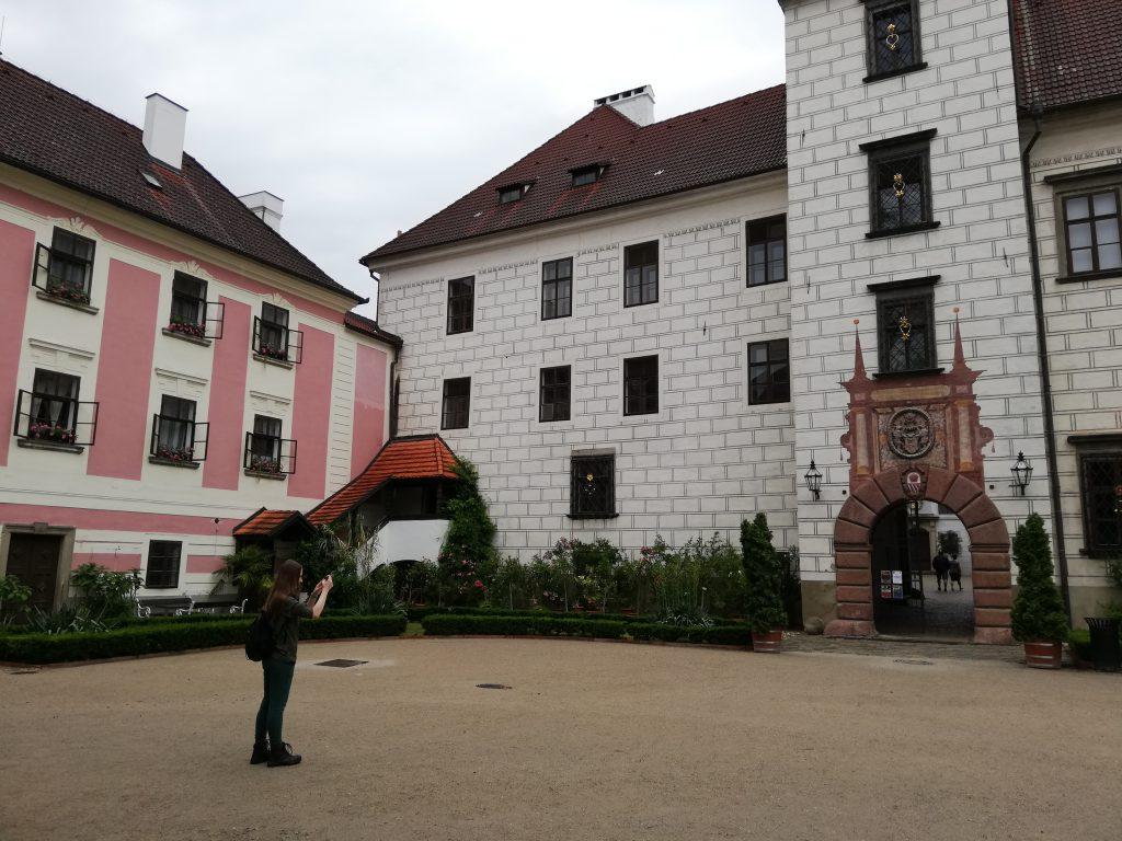 Castle Třeboň, courtyard