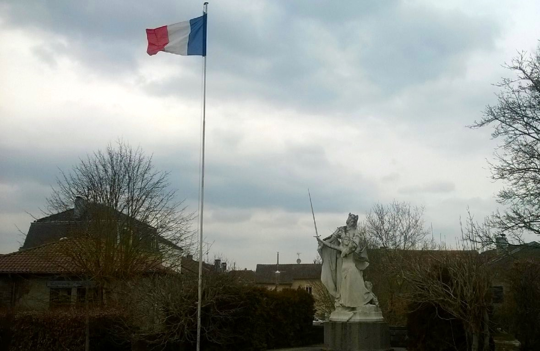 Monument in Domrémy-la-Pucelle (created by Marius Jean Antonin Mercié)