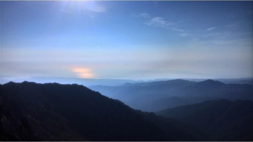 GR20 - mountain scenery