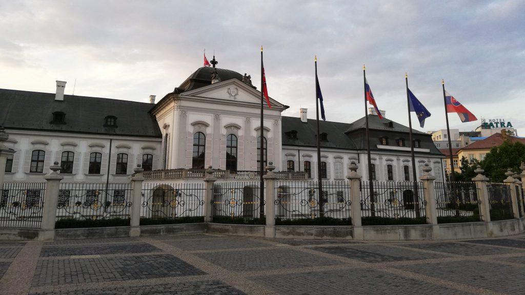 Grasalkovičov palác in Bratislava