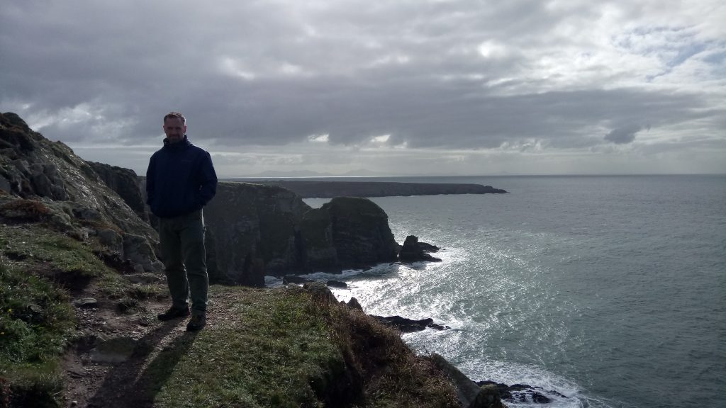 Holyhead, view onto the Irish Sea