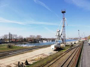 Komárno (harbor at the Danube)