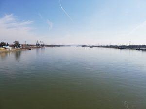 Danube, photo taken from the Elisabeth Bridge