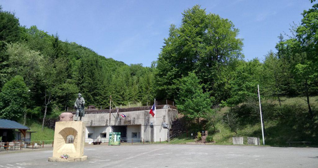 Ouvrage Hackenberg, entrance