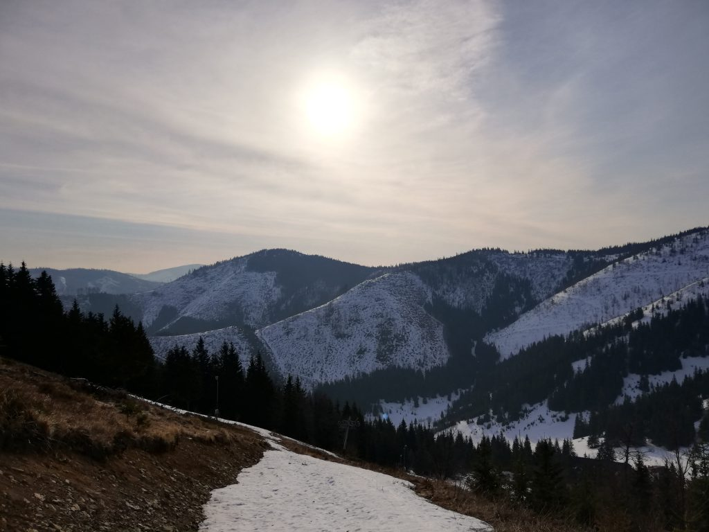 Near the Čertovica mountain pass