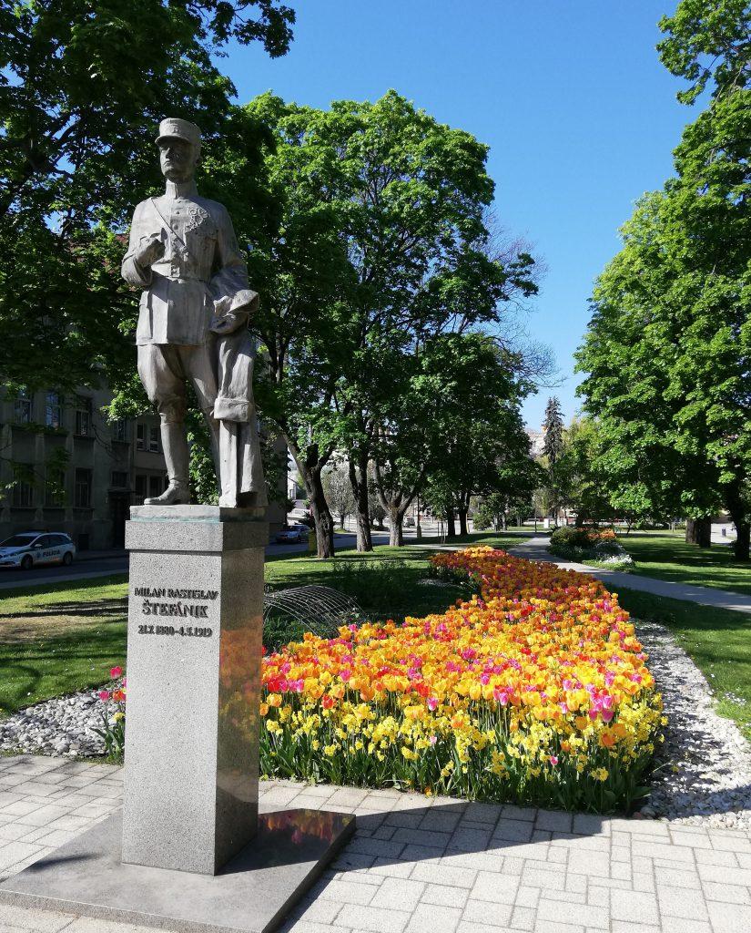 Milan Rastislav Štefánik monument in Trnava