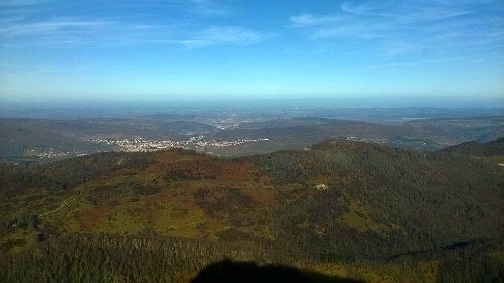 View from the Montségur crest