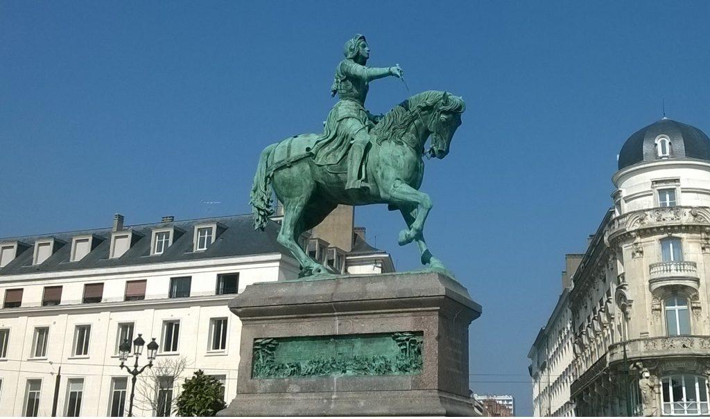 Monument in Orléans (Statue équestre de Jeanne d'Arc)