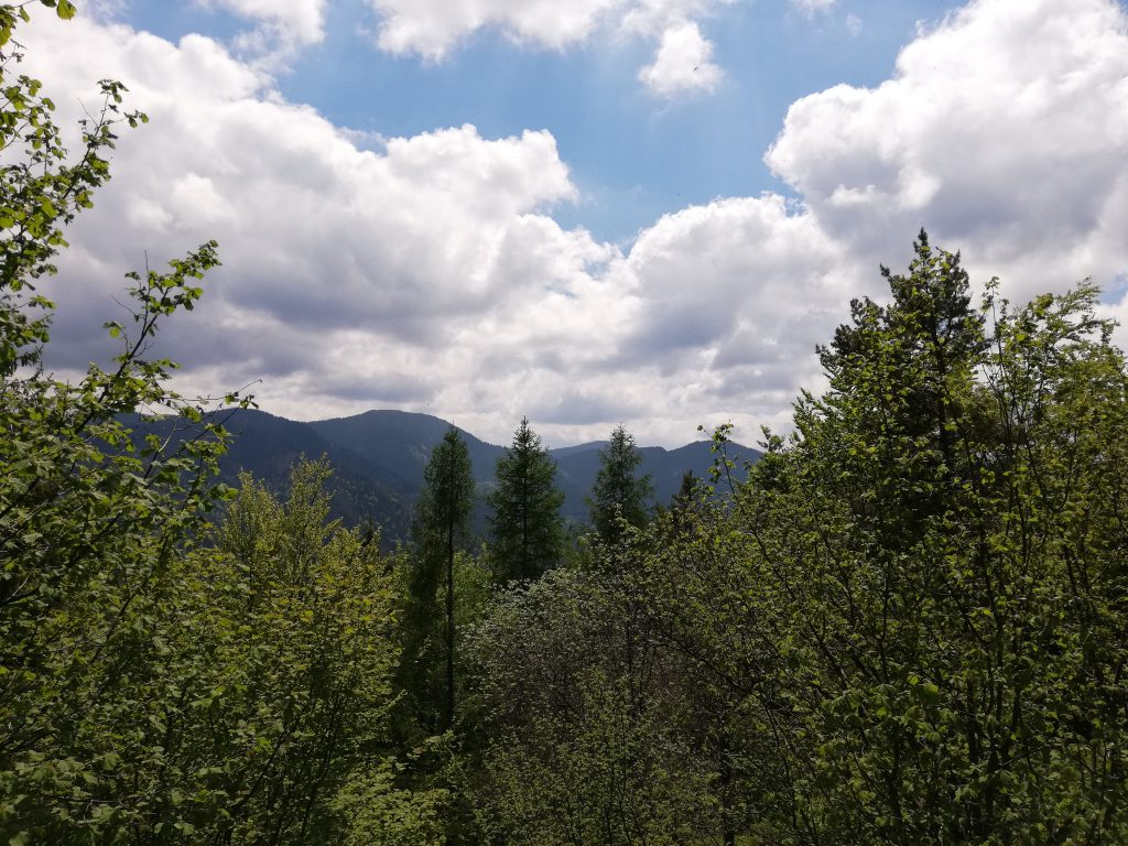 Ostré (peak), view onto the Low Tatras