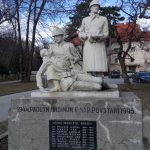 Monument near the Pezinok castle