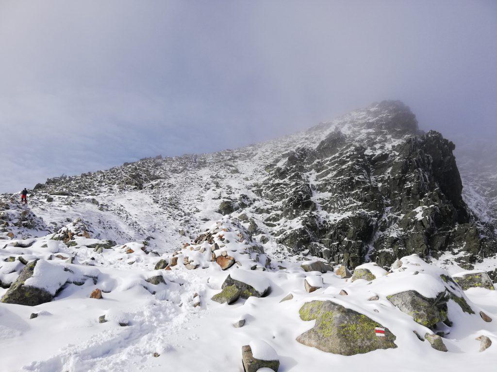 Rysy, near the peak (on around 2300 meters)