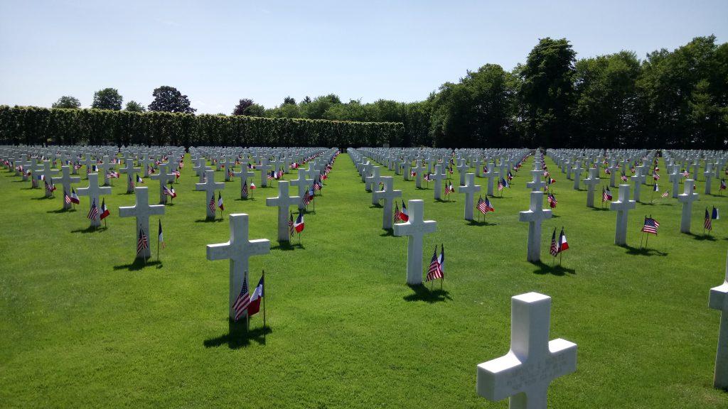 Saint Mihiel American Cemetery near Metz