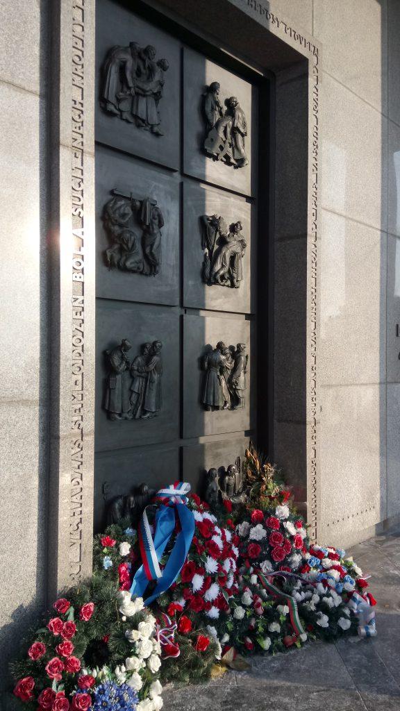 Slavín memorial monument