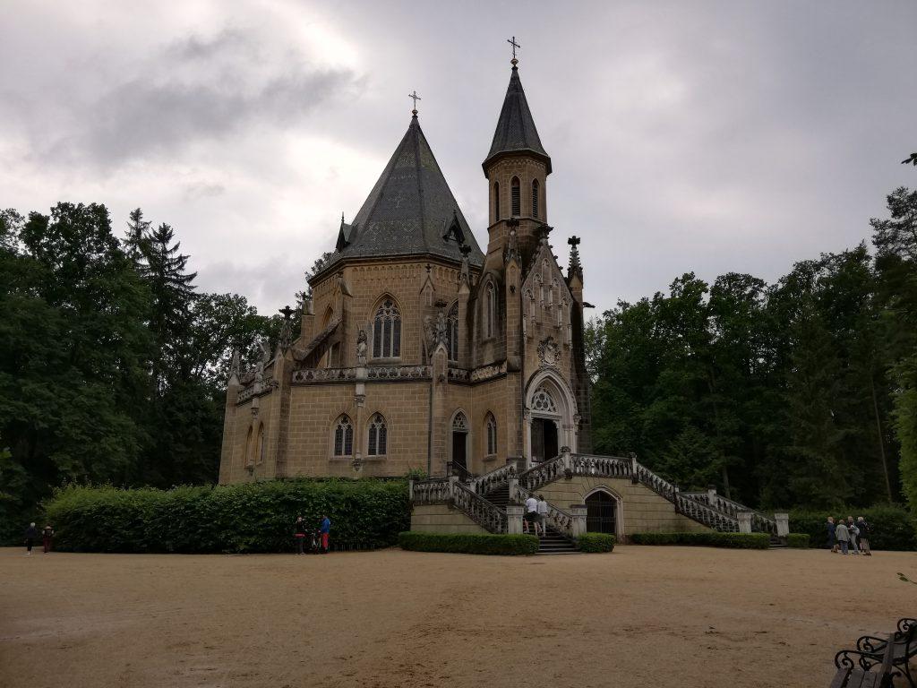 Třeboň, Schwarzenberská hrobka (mausoleum)