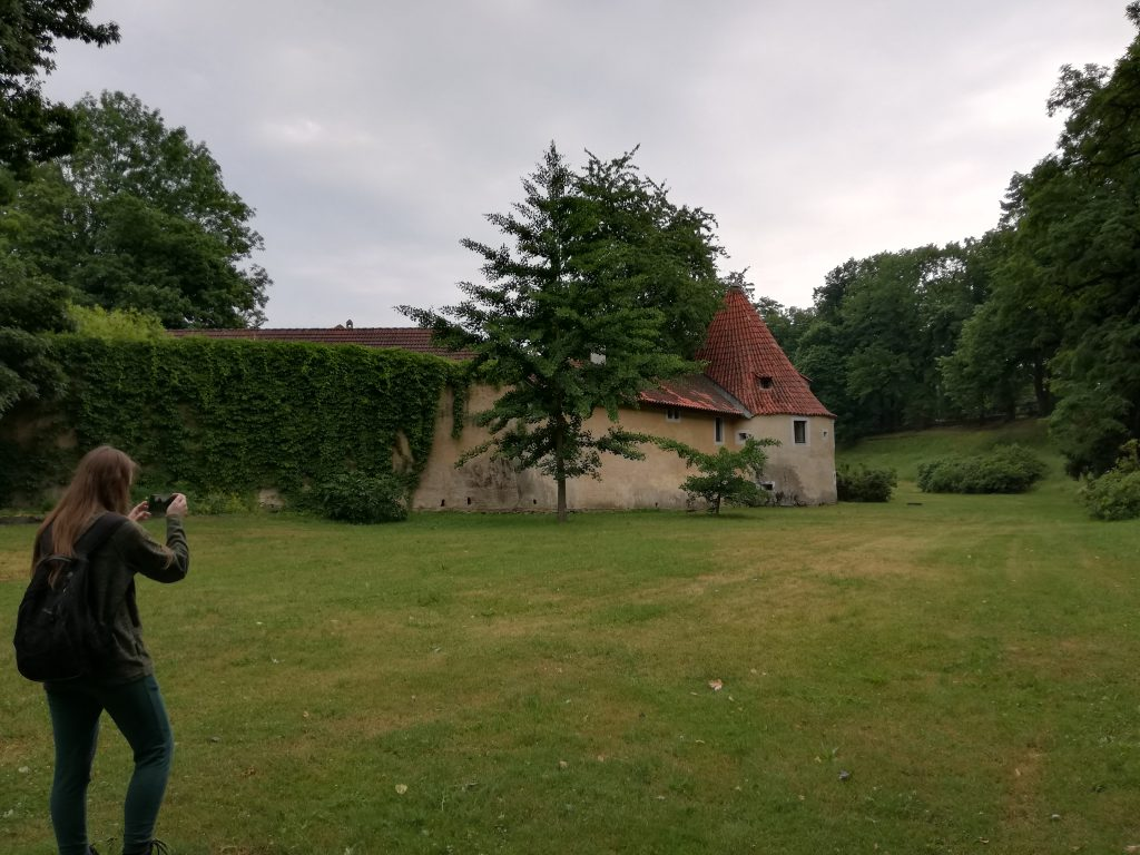 Třeboň, fortification structure