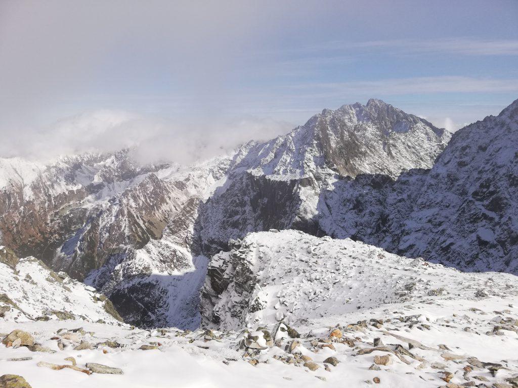 Near the Váha mountain saddle (2340 meters)