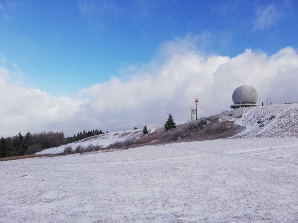 Wasserkuppe, former radar station