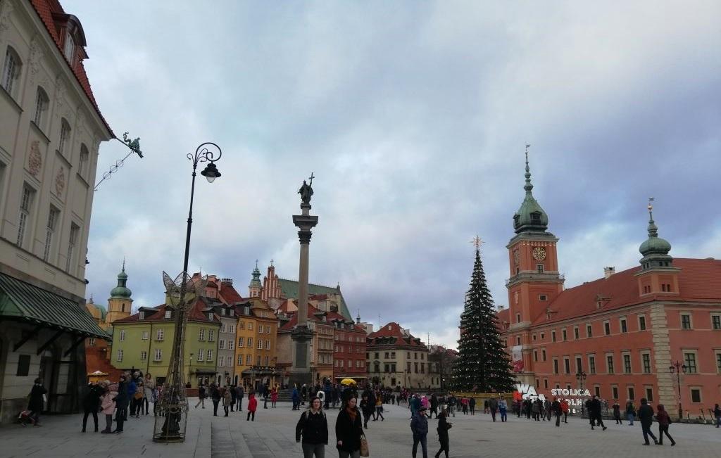 Warszawa, Kolumna Zygmunta III Wazy and Zamek Królewski w Warszawie