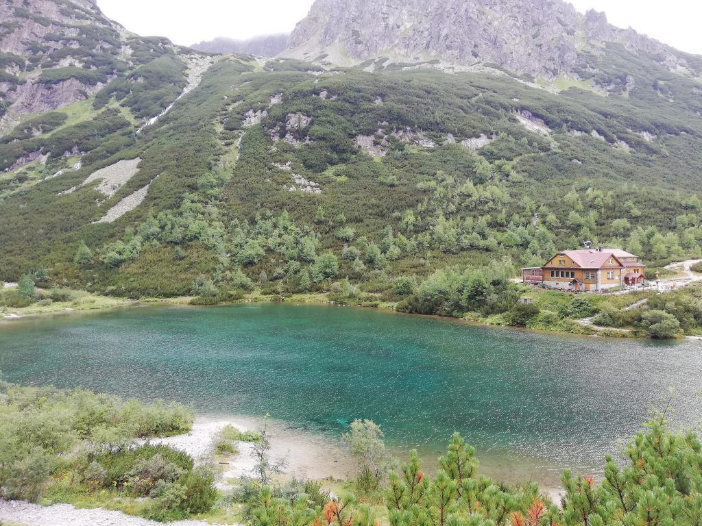 Chata pri Zelenom pleso (refuge), Zelené pleso (mountain lake)