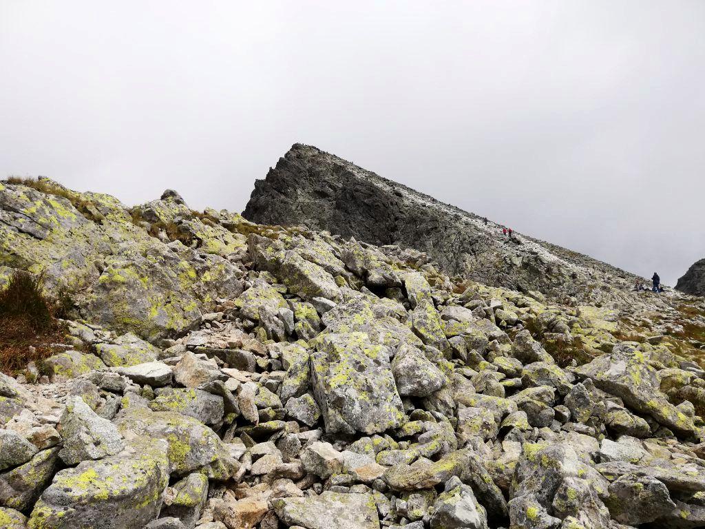 Near sedlo Poľský hrebeň, trail to Východná Vysoká