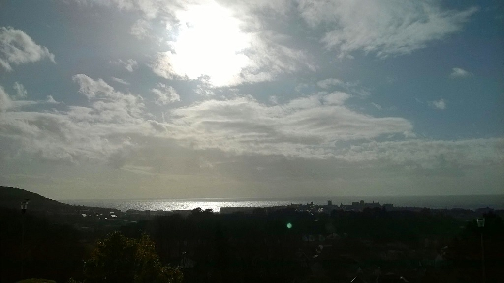 Silhouette of Aberystwyth