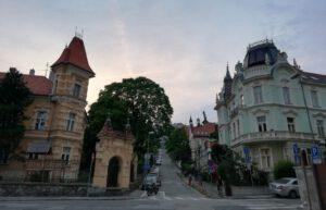 Mansions in Kuzmányho street