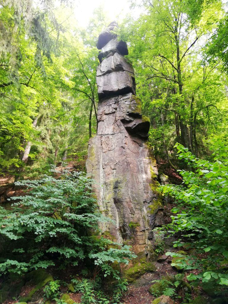 Stone formation, Svatošské skály