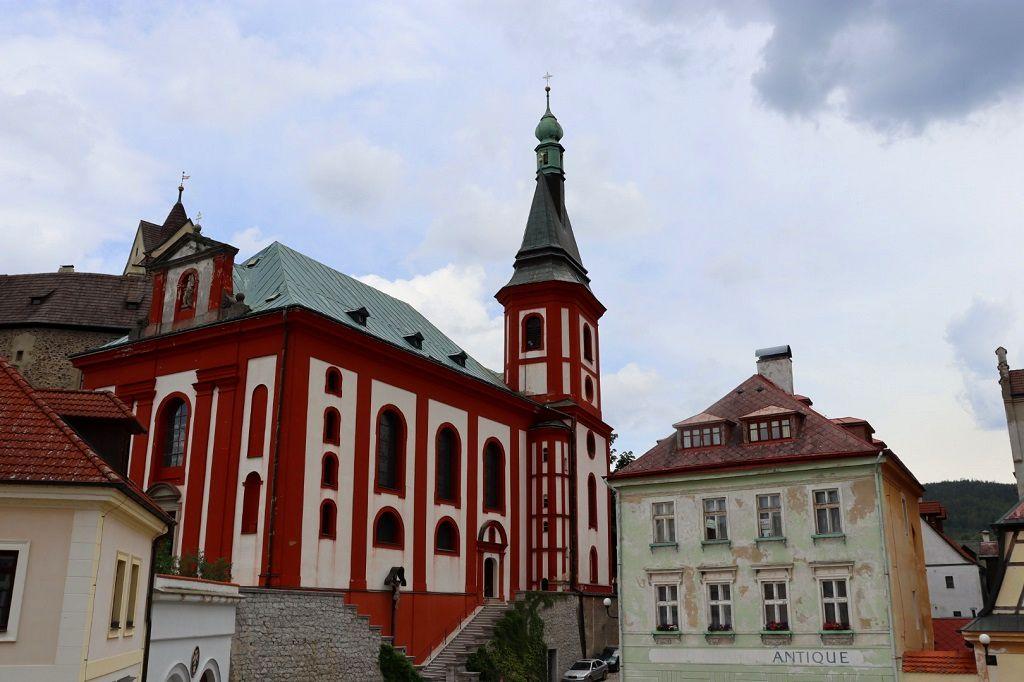 Loket, town center