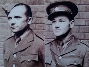 Jozef Gabčík (left) and Jan Kubiš