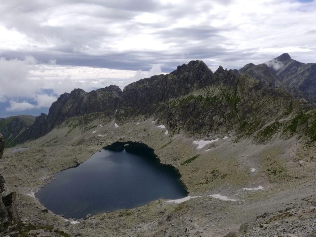 Near Bystrá lávka, view onto the Furkotská dolina valley