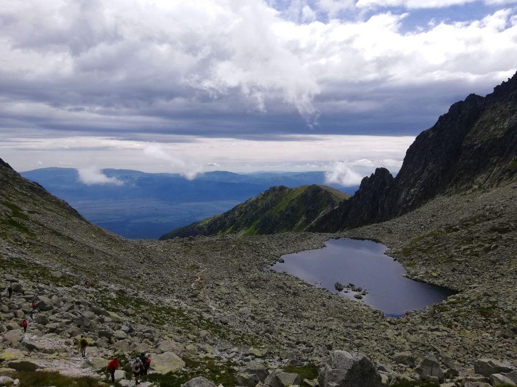 The Furkotská dolina, Nižné Wahlenbergovo pleso (2053 meters)