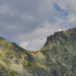 Kôprovský štít, mountain rescue helicopter