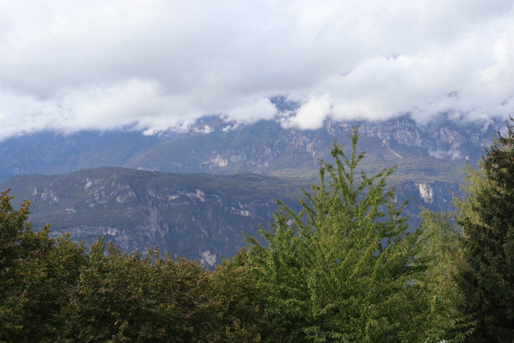 Dolomites, seen from Montevaccino