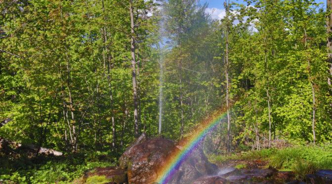 Rainbow, near Voithenberg
