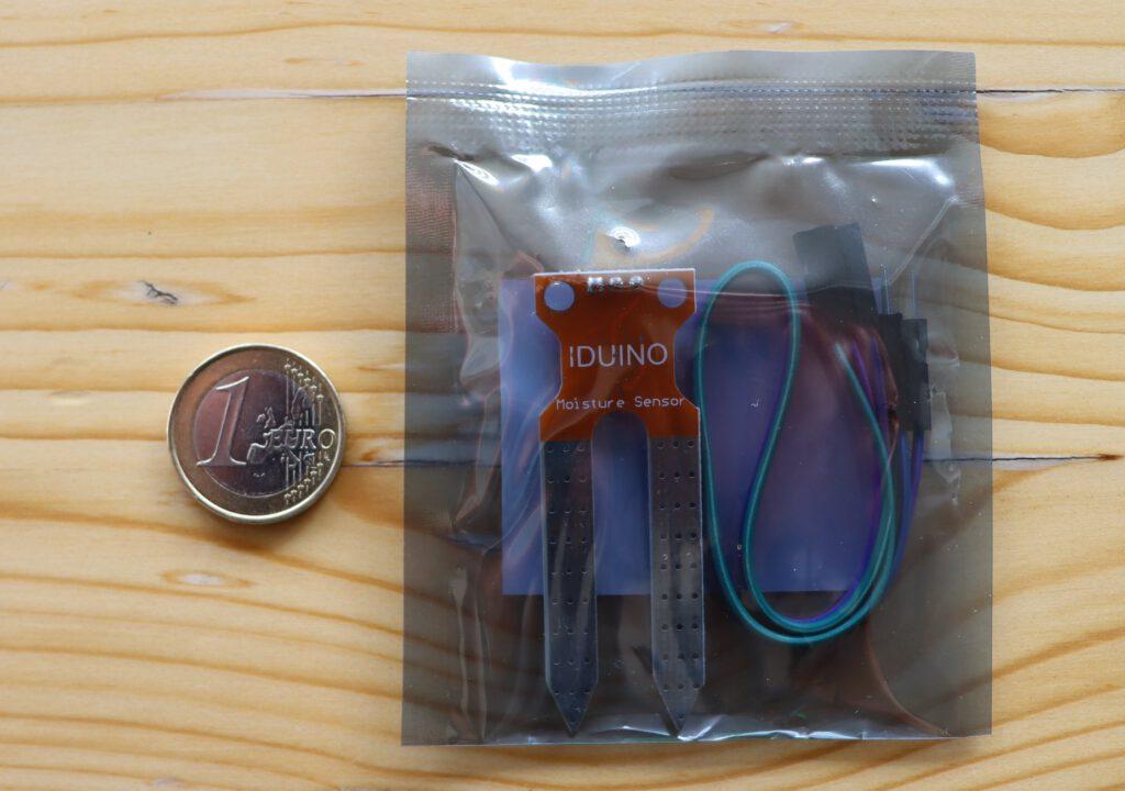 Bodenfeuchte-Sensor Iduino ME110 incl. Verkabelung (in ESD-Schutzhülle)