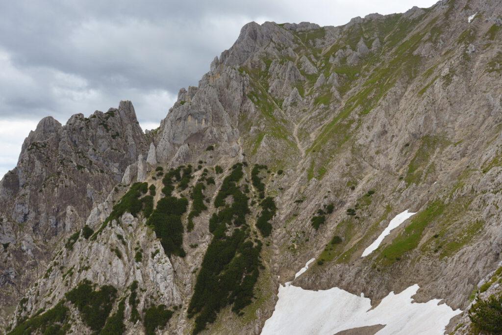 Karwendelsteig, on around 2000 meters