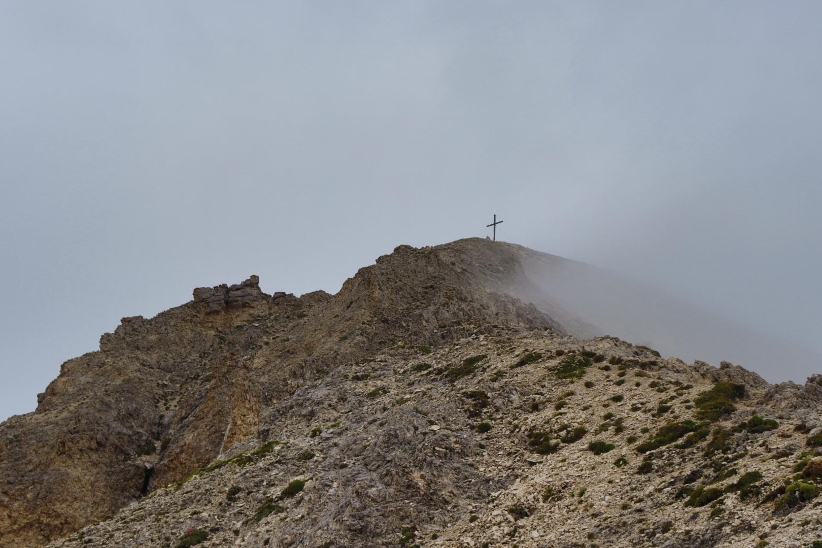 Tullen, close to the peak