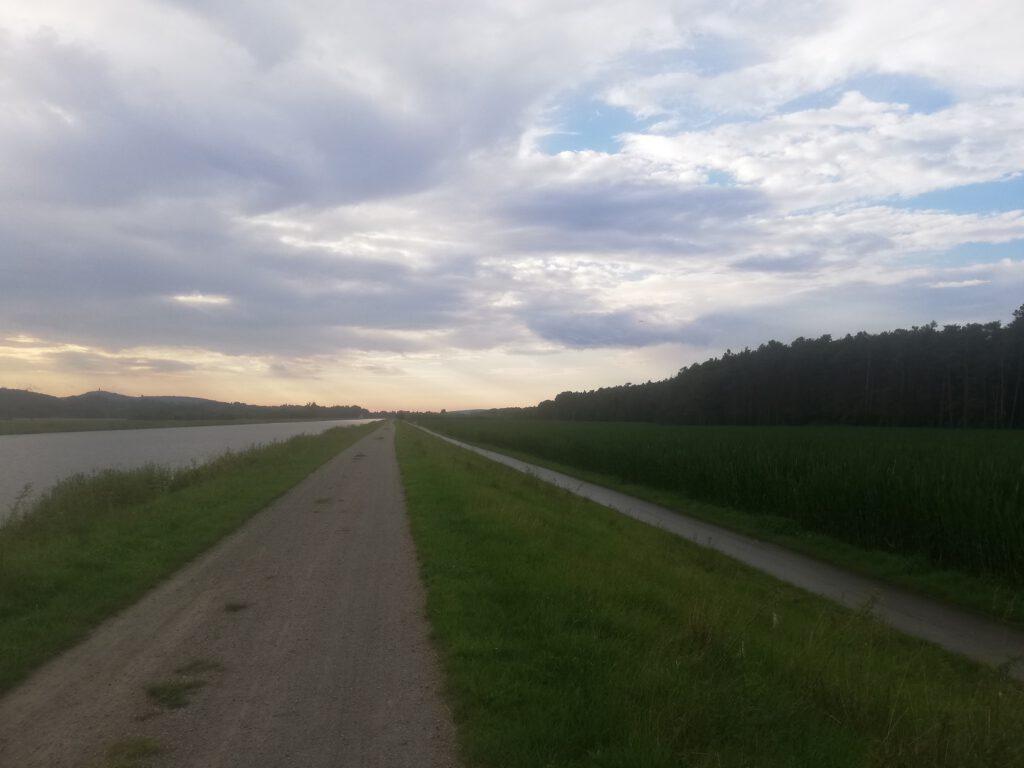Main–Danube Canal and bike trails a few kilometers short of Bamberg (4)